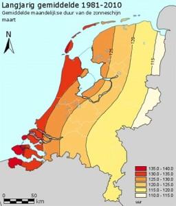 Langjarig gemidelte 1981 2010